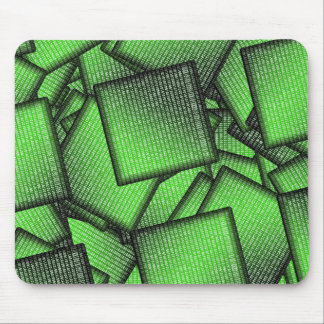 Binary Code  Matrix Chips Mouse Pad