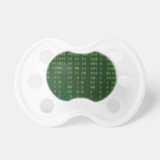 Binary code pacifier
