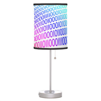 Binary Code Table Lamp