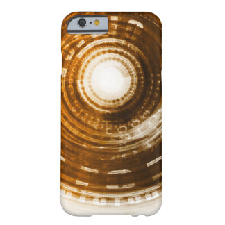 Binary Data Abstract Background for Digital Barely There iPhone 6 Case