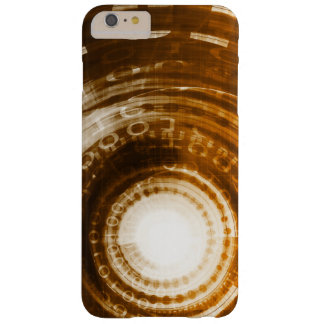 Binary Data Abstract Background for Digital Barely There iPhone 6 Plus Case