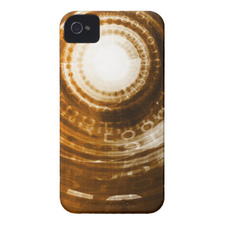 Binary Data Abstract Background for Digital Case-Mate iPhone 4 Case