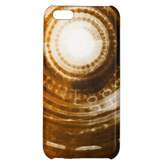 Binary Data Abstract Background for Digital iPhone 5C Cases
