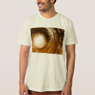 Binary Data Abstract Background for Digital T-Shirt