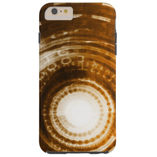 Binary Data Abstract Background for Digital Tough iPhone 6 Plus Case