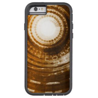 Binary Data Abstract Background for Digital Tough Xtreme iPhone 6 Case