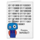 Binary Happy Birthday Card