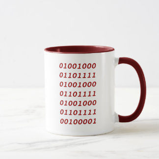 Binary Ho Ho Ho! Mug