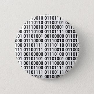 Binary: I Love To Program 2 Inch Round Button