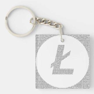 Binary Litecoin Keychain