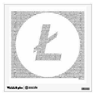 Binary Litecoin Wall Sticker