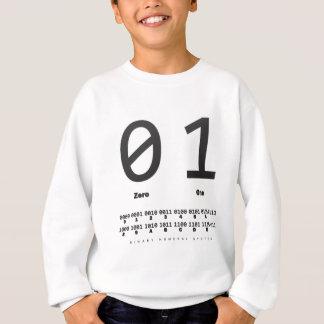 binary number system: computer: engineer sweatshirt