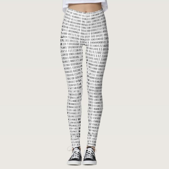 Binary Numbers Leggings