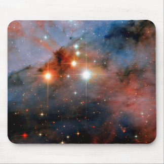 Binary Stars WR 25 & Tr16-244 - Hubble Space Photo Mouse Pad