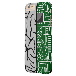 Binary Thinking Hi-Tech  Human Brain Barely There iPhone 6 Plus Case