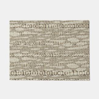 Binary Trendy Funky Nerd Nerdy Geek Retro Doormat