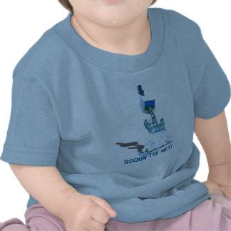 Binary' Tunes! - Rockin The Net Infant Basic T T-shirt
