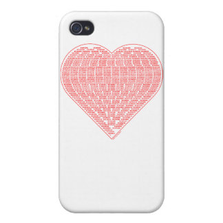 Binary Valentine iPhone 4/4S Cover