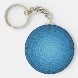 Binary World Keychain