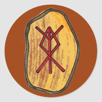 Bind Rune: Home Protection Round Sticker