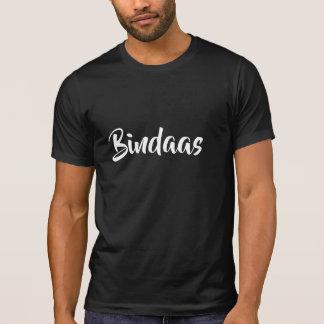 Bindaas hindi slang cool carefree Funny design T-Shirt