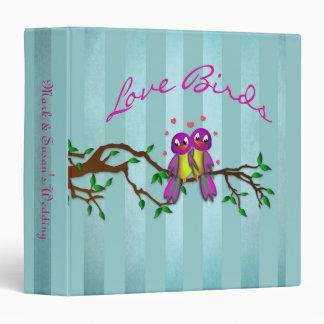 Binder/Album - Love Birds Vinyl Binders