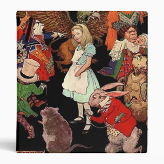 Binder Alice in Wonderland