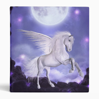 Binder-Angel Horse 3 Ring Binders