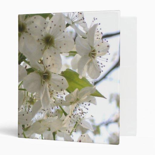 Binder - Blooming Bradford Pear