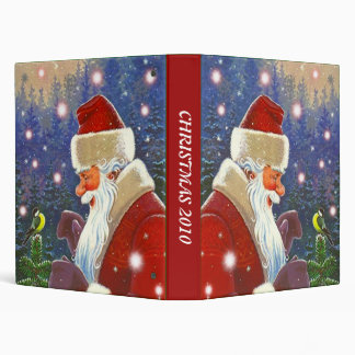 BINDER ~ BOOK OF CHRISTMAS CARDS HOLIDAY KEEPSAKE