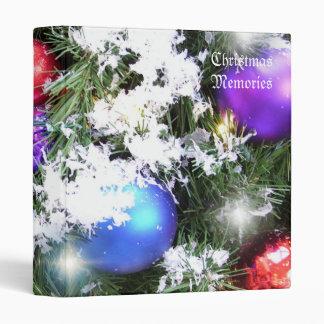 Binder - Christmas Glow & Faux Snow