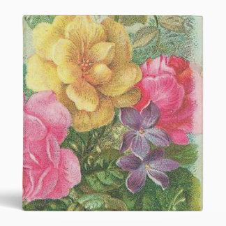 Binder Floral Vintage