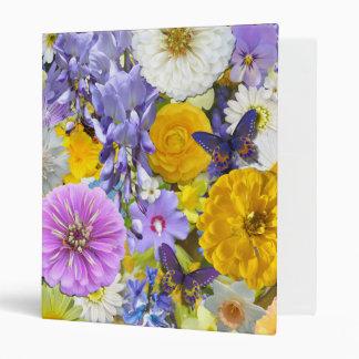 Binder - Flowers and Butterflies