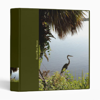 Binder / Great Blue Heron