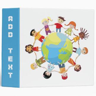 Binder: Kids Around The World Unite for Peace Binders