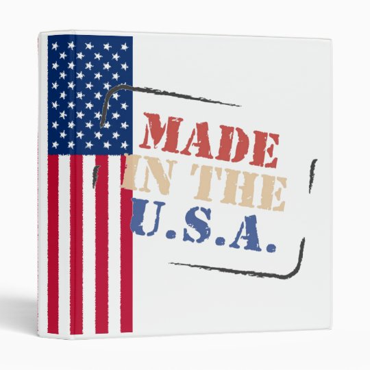 Binder Made in the USA
