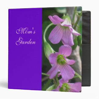 Binder - Mom's Garden