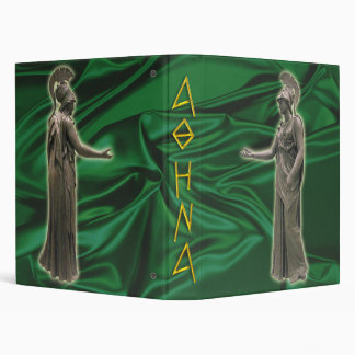 Binder of Athena Goddess of wisdom