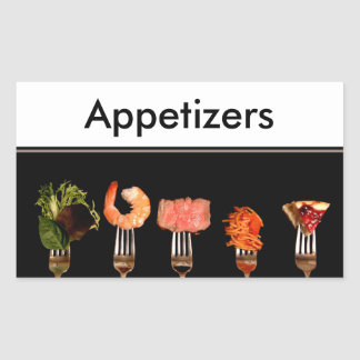 Binder Page Insert Food on Forks Stickers Template