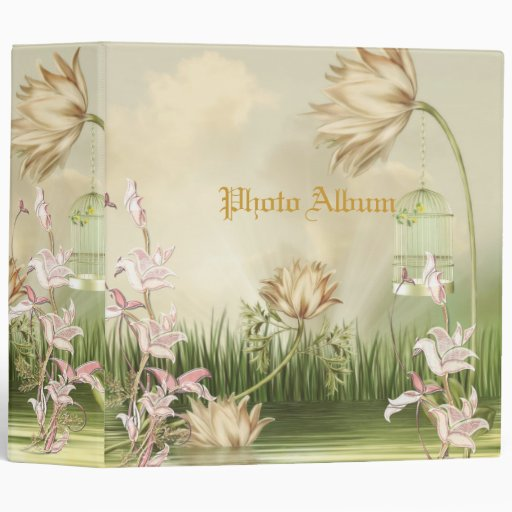 Binder Photo Album Peaceful Pond Binders