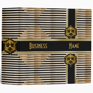 Binder Reflect Gold Black Photos Business Office