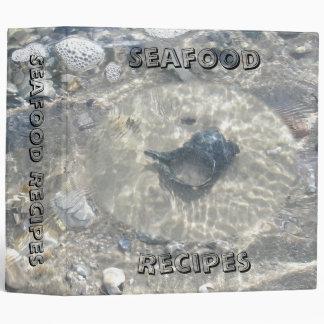 Binder Seashells Seafood Recipes