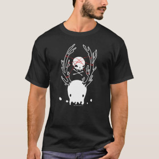 Binder Shirt Creepy deer jellyfish skull rope