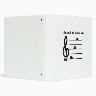 "Binder ""Sound of mew-sic"""