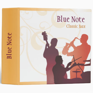 Binder Template Jazz Band