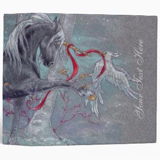 Binder - Unicorn Snow Bird