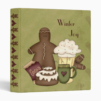 Binder Winter Joy-Cocoa-Hot Chocolate-Gingerbread