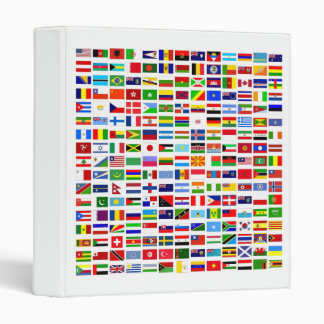 Binder World Flags