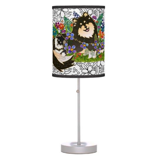BINDI  Finnish Lapphund lamp