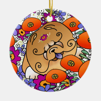BINDI FLOWER POWER Chow - Ornament